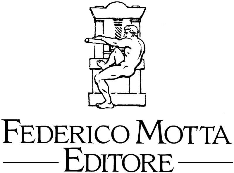 Il torcoliere, storico logo della Cliché Motta e poi della Federico Motta Editore