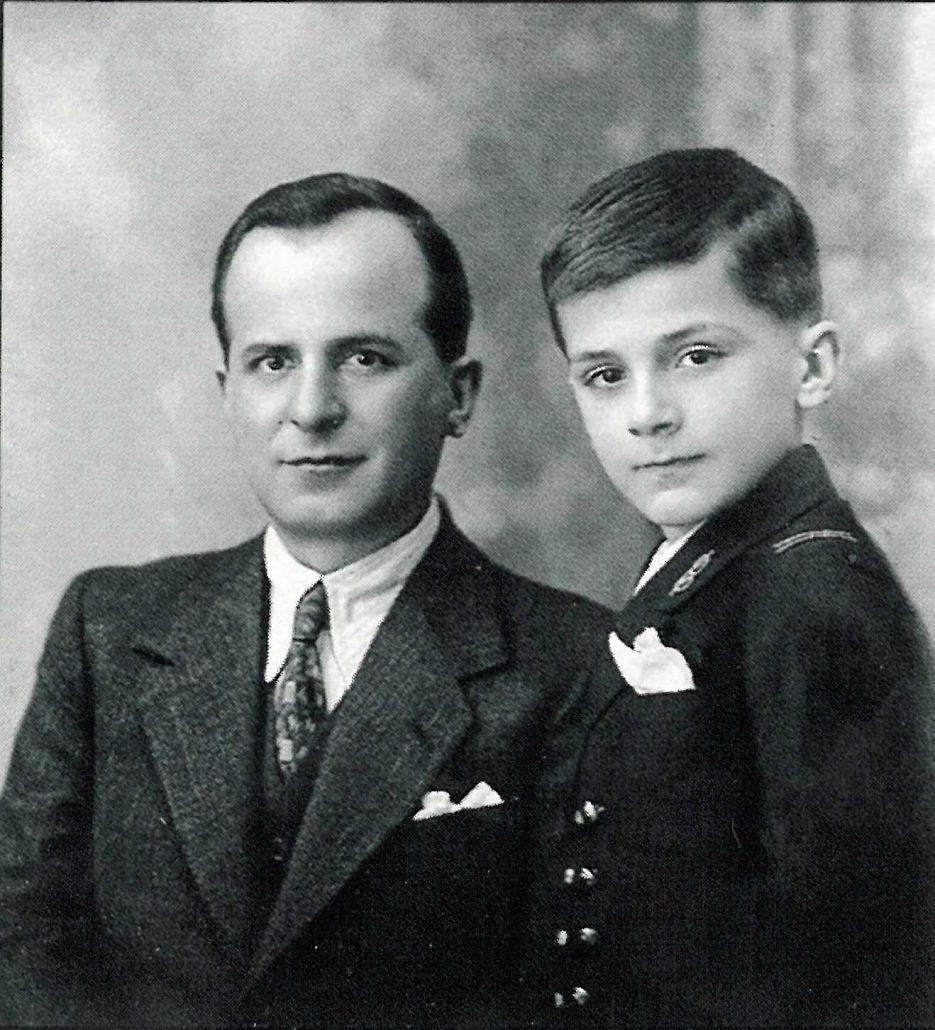 Federico Motta e il figlio Virginio