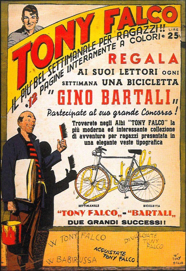 Federico Motta Editore e Tony Falco