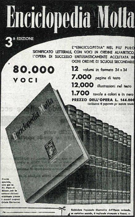 Enciclopedia motta terza edizione