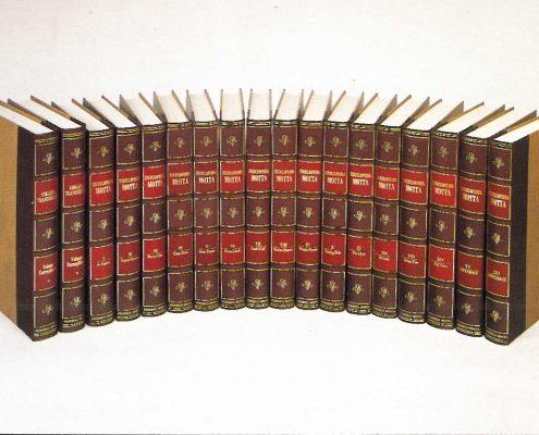 L'Enciclopedia Motta in 18 volumi