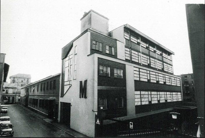 La sede milanese della Motta Editore