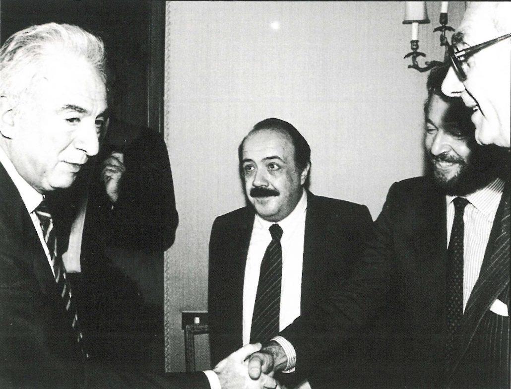 Maurizio Costanzo e il premio giornalistico Motta Editore