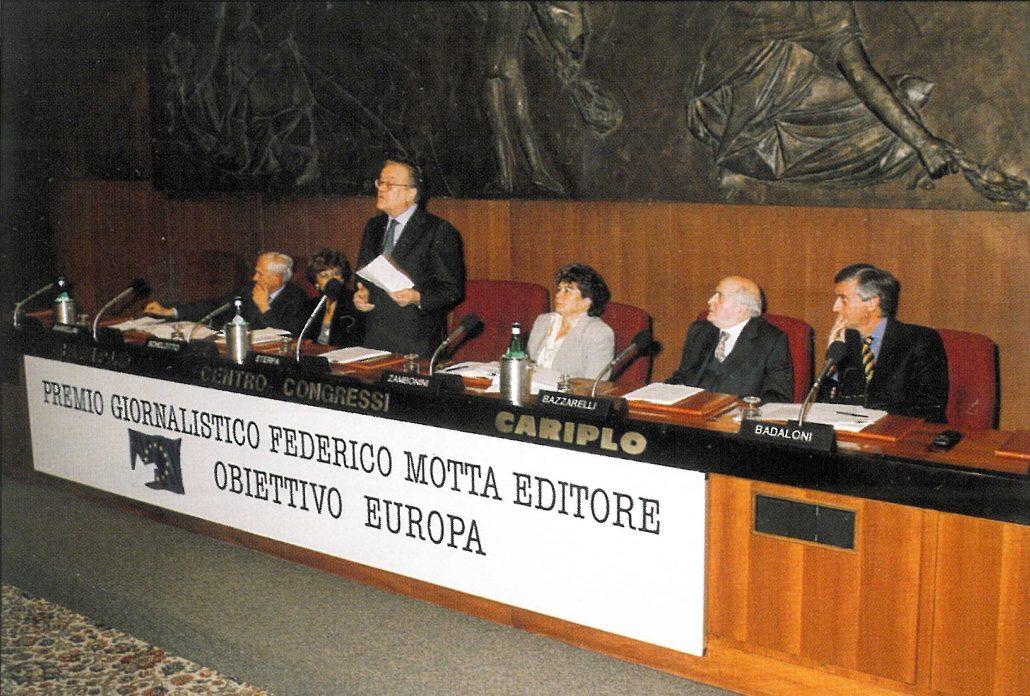 """Premio Giornalistico Federico Motta Editore """"Obiettivo Europa"""""""