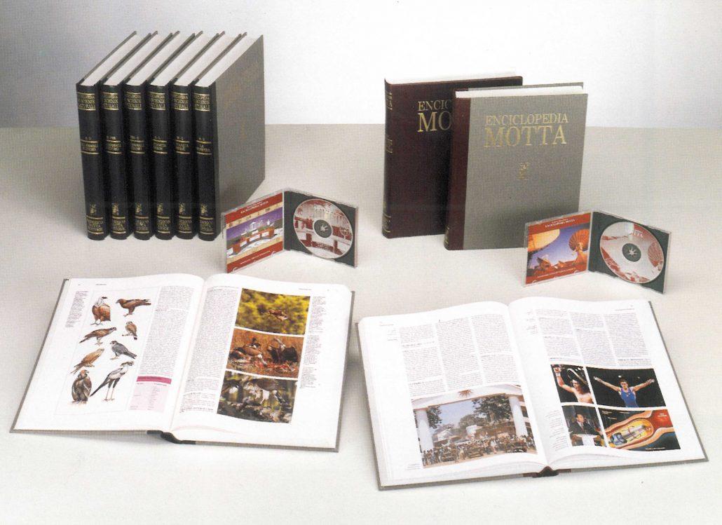 Nel 1996, arriva l'Enciclopedia Motta di scienze naturali