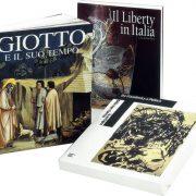 Alcuni libri d'arte del Gruppo Editoriale Motta.