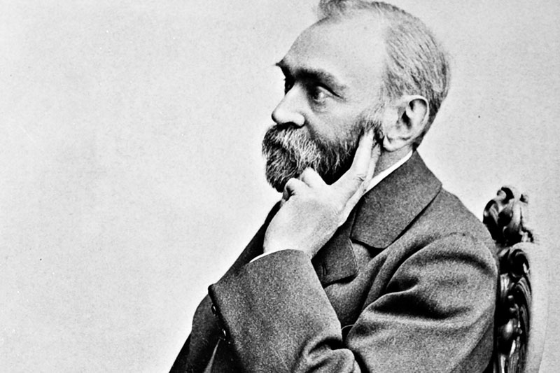 Ritratto di Alfred Nobel